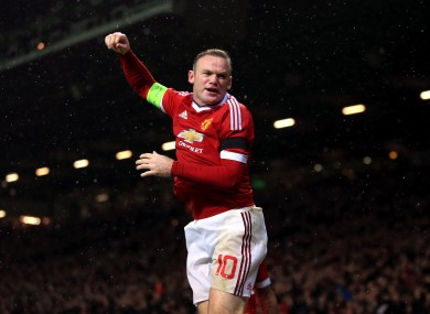 Rooney broke his and United's barren run   on Tuesday evening.