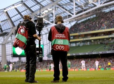 RTÉ have the rights for Euro 2016.