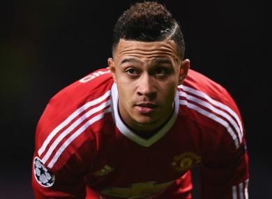 Manchester United forward Memphis Depay has had a difficult start to life at Old Trafford.