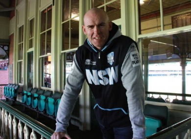 Johnston became New South Wales head coach in July.