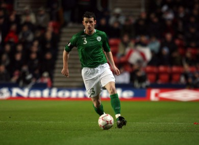 O'Halloran has been capped twice for Ireland.