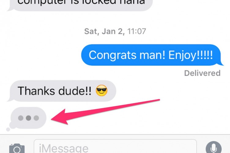 Those Dots You See In IMessage Are More Complicated Than Think