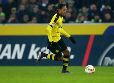 Borussia Dortmund attacker Pierre-Emerick Aubameyang has been in fine form this season.