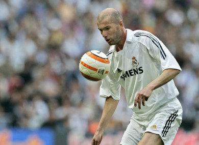 Zidane starred as a player for Real Madrid, can he do likewise as a manager?