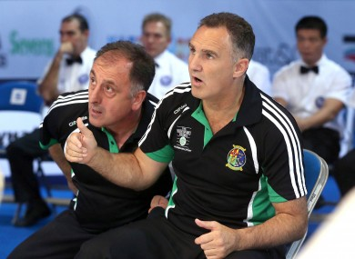 Antia, left, and Walsh worked side by side to deliver international success in Irish boxing.