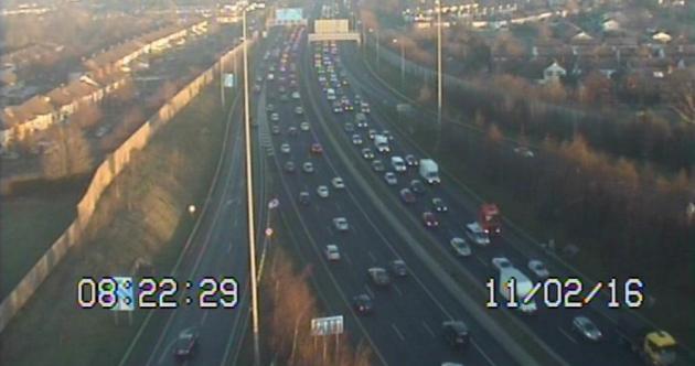Commuting liveblog: Luas strike, icy roads and heavy Dublin traffic