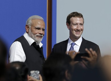 Facebook CEO Mark Zuckerberg met with Indian prime minister Narendra Modi at its HQ back in September, but its plans for the country have hit a major setback.