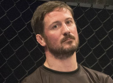 Straight Blast Gym head coach John Kavanagh.
