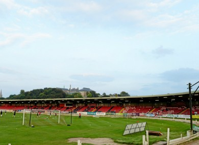 The Brandywell in Derry.