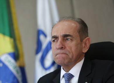Brazil''s Health Minister Marcelo Castro.