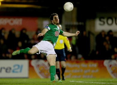 Gearoid Morrissey pictured in action for Cork against Bohemians last week.