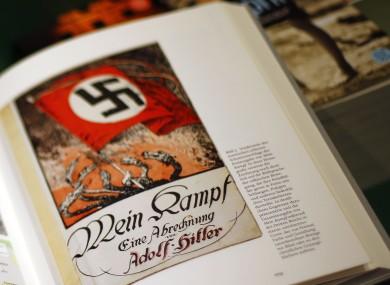 Hitler's Mein Kampf. (File photo)