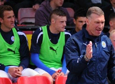 Kane, Vardy and Drinkwater in 2013