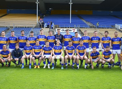 The Tipperary footballers face
