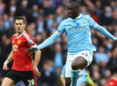 Yaya Toure's agent believes he'll leave the club.