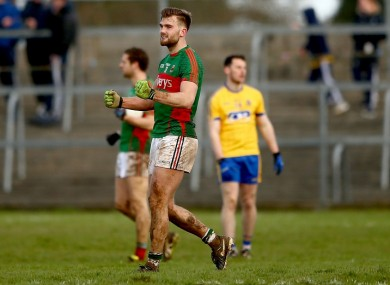 Mayo forward Aidan O'Shea.