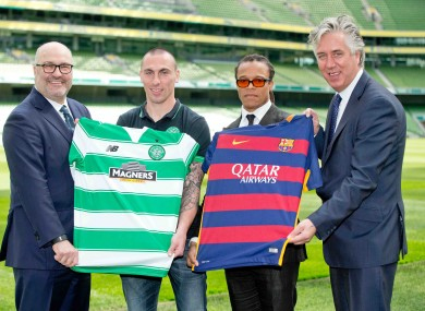 ebd04f5fd Barcelona and Celtic will bring their stars to Dublin game - organisers