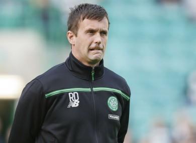 Celtic manager Ronny Deila.