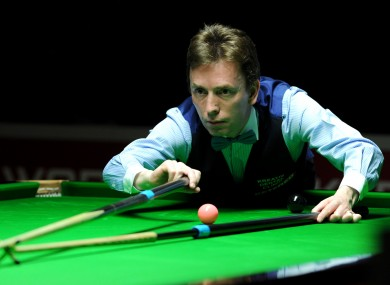 Doherty: missed out on the Crucible last year (file photo).