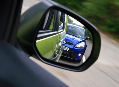 Correct wing mirror positioning can reduce blindspots