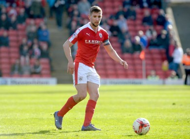 Conor Hourihane is expected to feature for Barnsley this weekend.