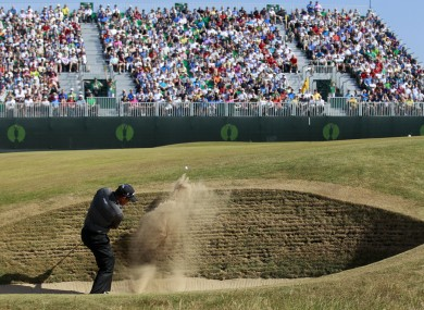 Muirfield last hosted the Open in 2013.