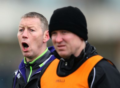 Kerry boss Ciaran Carey (left).
