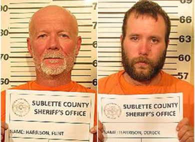 The two Harrison men.