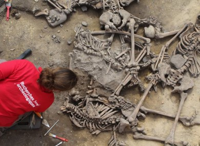 Archaeologists from Inrap uncovered the remains after digging for several weeks.