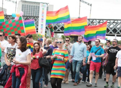 0093903faa68 Tens of thousands expected in Dublin for annual Pride parade