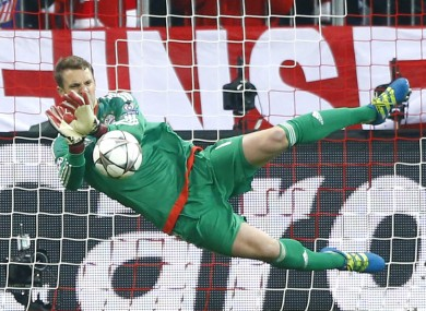 Neuer was almost the consensus pick at goalkeeper.