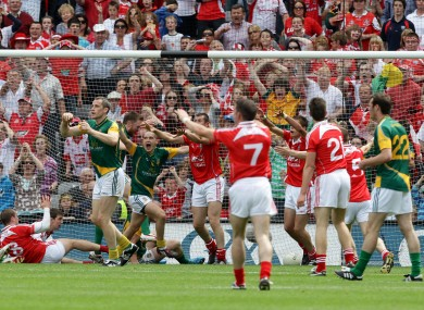 Joe Sheridan's infamous goal arrived in injury-time of the 2010 Leinster football final.