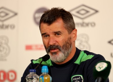 Keane speaking today.