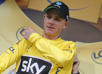Britain's Chris Froome is set to win this year's Tour de France.