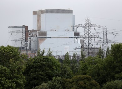 Hinkley Point power station will be site of two new nuclear reactors.