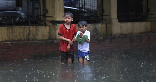 In Photos: Monsoon downpours intensify following Typhoon Nepartak
