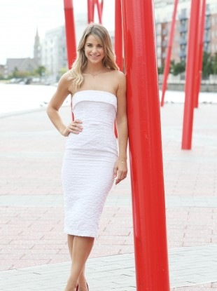 Vogue Williams at the launch of RTÉ TV's new season.