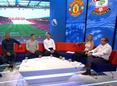 Jeff Stelling and Rachel Riley are joined by Ryan Giggs, Jamie Carragher, Thierry Henry and Jamie Redknapp in tonight's Friday Night Football on Sky Sports.