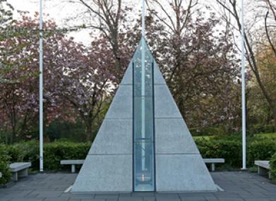 The National Memorial, in Merrion Square, Dublin.