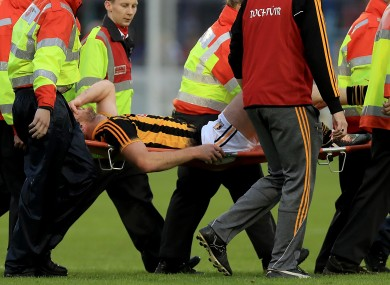Michael Fennelly was stretchered off in Thurles last Saturday.