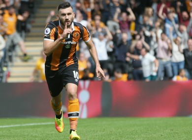 Match-winner Robert Snodgrass.