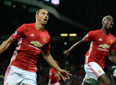 41045db0755 Manchester United puzzle will come together - Ibrahimovic · The42