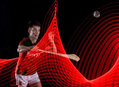 David Kenny juggles hurling and football commitments for Mayo.