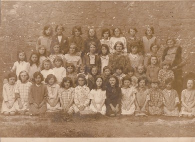 Mungret Girls' School in the 1930s.