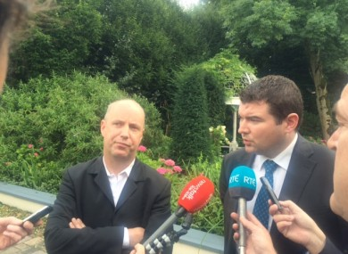 TDs Jim Daly and Brendan Griffin think Enda Kenny needs to outline a timetable for his departure.