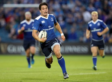 Leinster fly-half Joey Carbery in action against Benetton Treviso.