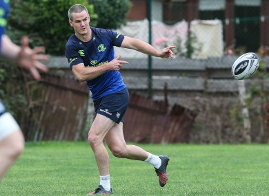Sexton: injured his shoulder in the Pro12 final against Connacht.