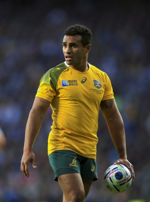 Australia's Will Genia ran in two tries (file pic).
