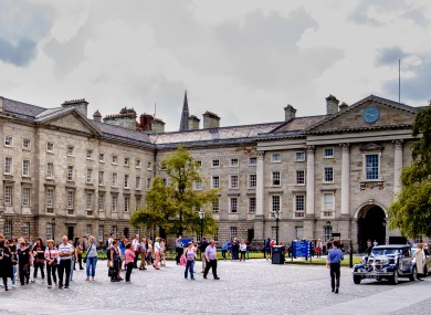 Trinity College Dublin has been temporarily removed from the rankings while a review of its data is undertaken.