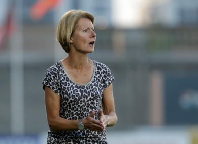 Sue Ronan was appointed head coach in October 2010, taking over from Noel King.